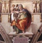 Michelangelo - Sistine Chapel ceiling - Delphic Sibyl