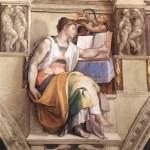 Michelangelo - Sistine Chapel ceiling - Erythraean Sibyl