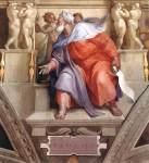 Michelangelo - Sistine Chapel ceiling - Ezekiel