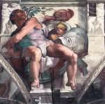 Michelangelo - Sistine Chapel ceiling - Jonah
