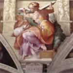 Michelangelo - Sistine Chapel ceiling - Libyan Sibyl