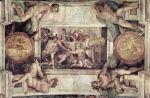 Michelangelo - Sistine Chapel ceiling - Sacrifice of Noah