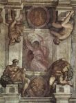 Michelangelo - Sistine Chapel ceiling - Separation of Light from Darkness