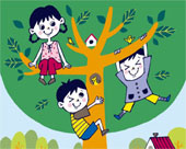 children-housetree-clipart1