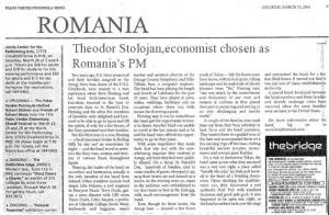 economist-chosen-as-romanias-pm