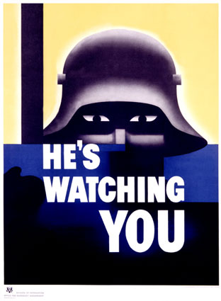 he-s-watching-you-posters