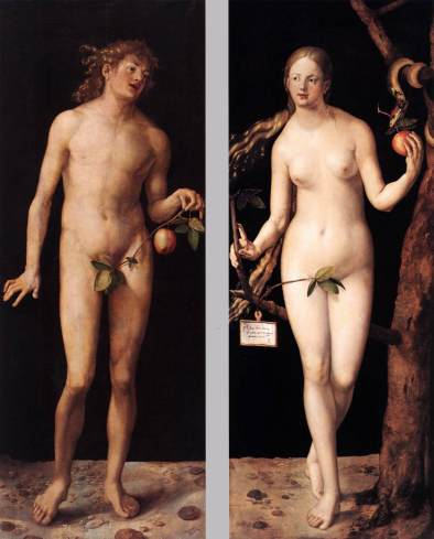 Albrecht Dürer – Adam and Eve