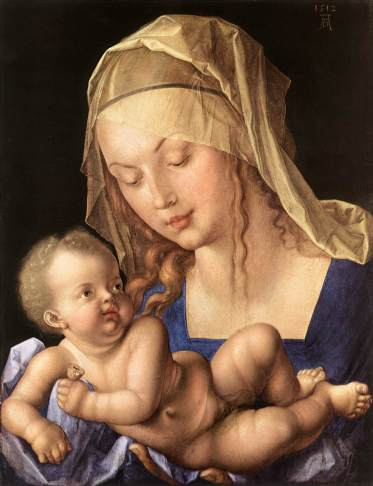Albrecht Dürer – The Virgin Mary and the Child