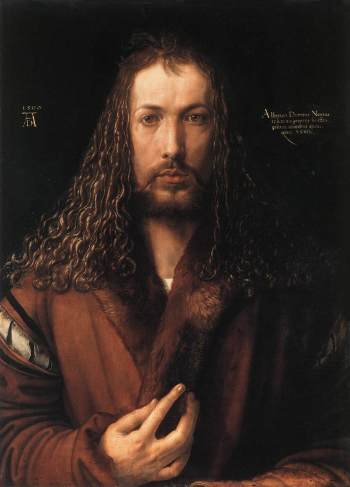 Albrecht Dürer - Self portrait