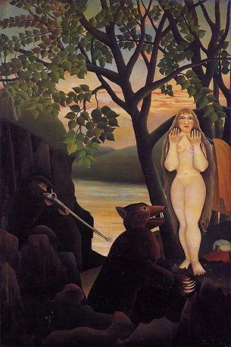 Henri Rousseau - Mauvaise surprise