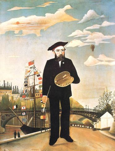 Henri Rousseau - Self-portrait