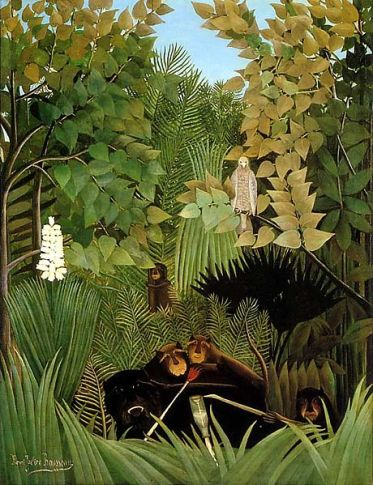 Henri Rousseau - The Merry Jesters