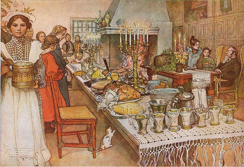 Carl Larsson - Christmas Eve