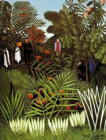 Henri Rousseau - Exotic Landscape