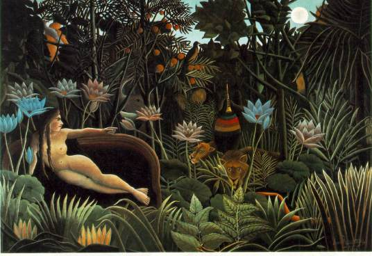 Henri Rousseau - Dream