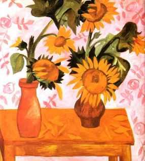 Natalia Goncharova - Sunflowers