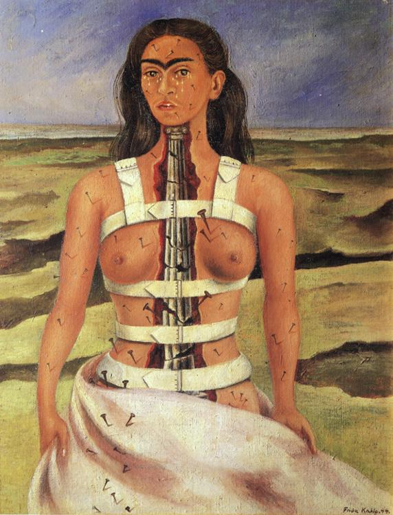 Frida Kahlo - The Broken Column.