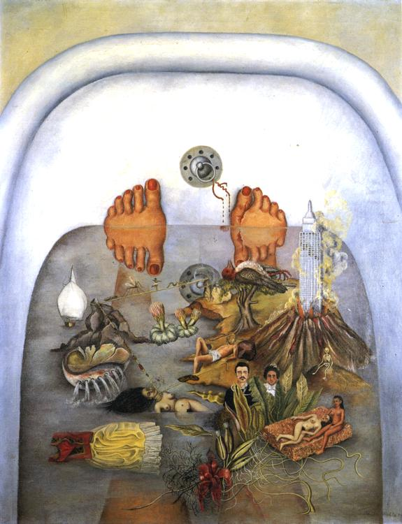 Frida Kahlo - What the Water Gave Me.