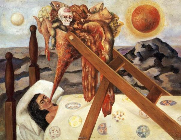 Frida Kahlo. Without Hope.