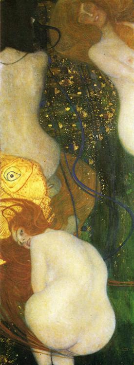 Gustav Klimt - Goldfish.