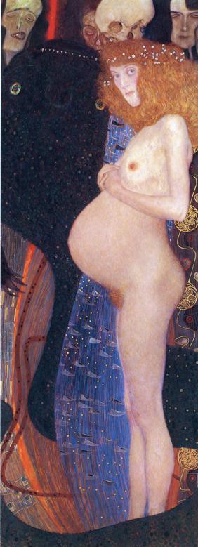 Gustav Klimt - Hope I.