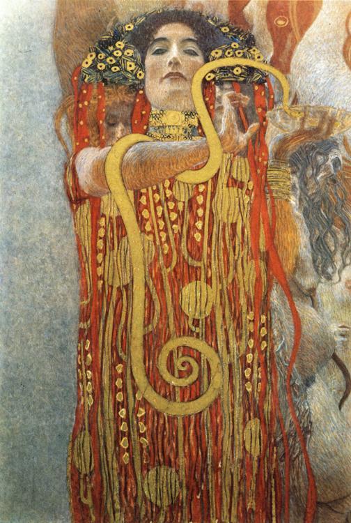 Gustav Klimt - Hygeia.