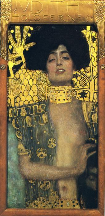 Gustav Klimt - Judith and Holopherne.