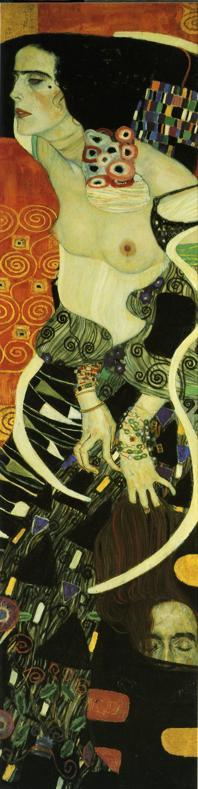 Gustav Klimt - Judith II. (Salome).
