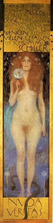 Gustav Klimt - Nuda Veritas.