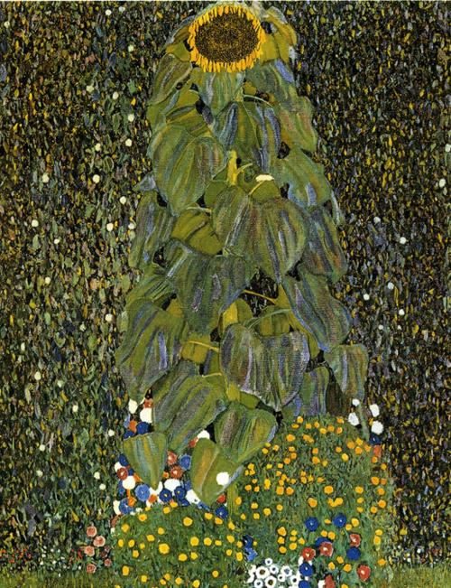 Gustav Klimt - The Sunflower.
