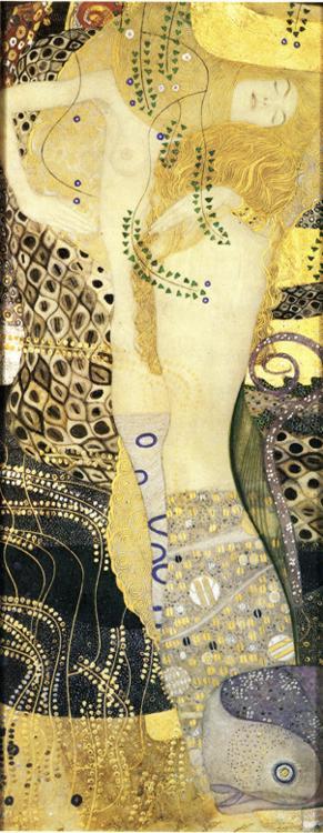 Gustav Klimt - Watersnakes.
