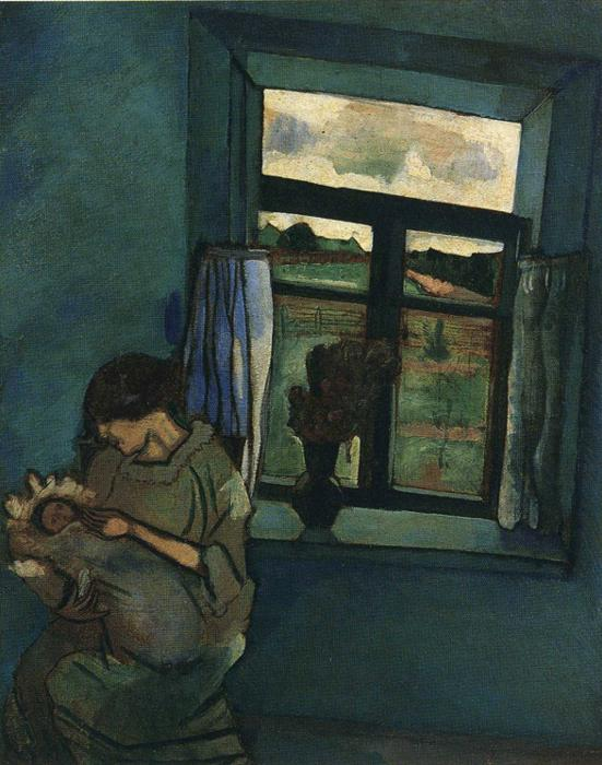 Marc Chagall. Bella and Ida by the Window.