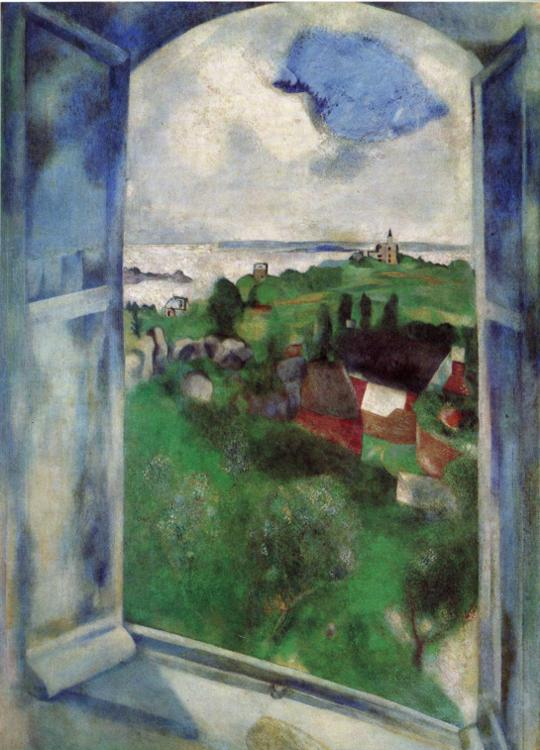 Marc Chagall. The Window