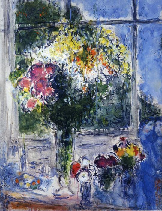 Marc Chagall. Window in Artist's Studio.