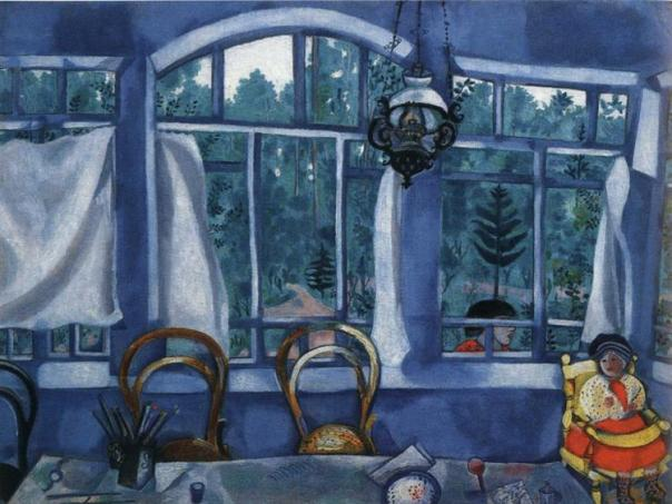 Marc Chagall. Window over a Garden.