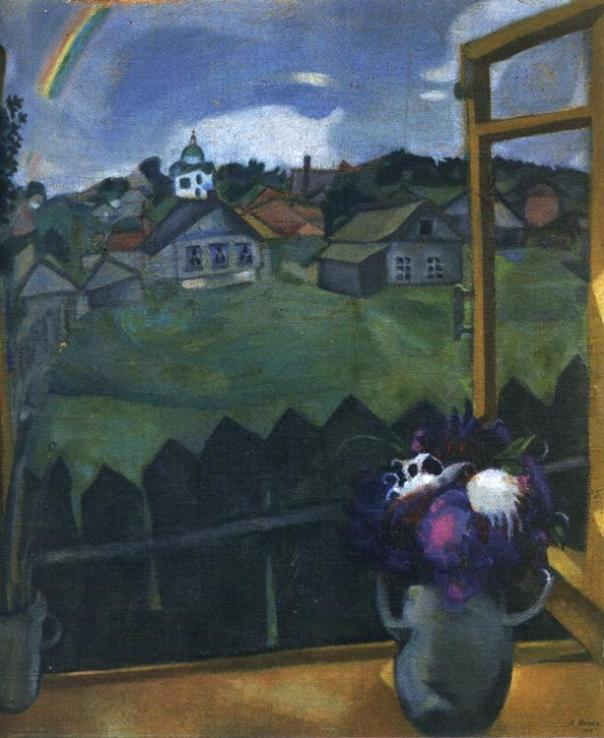 Marc Chagall. Window. Vitebsk.