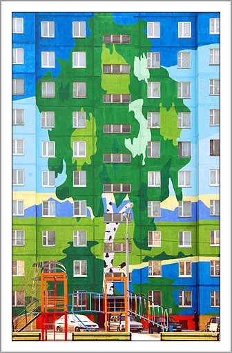 Ramenskoye's Painted Houses10