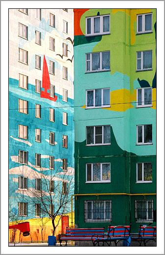 Ramenskoye's Painted Houses12