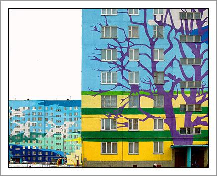 Ramenskoye's Painted Houses4