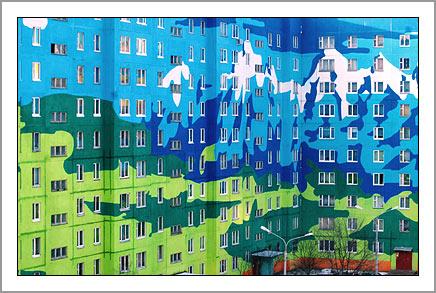 Ramenskoye's Painted Houses5