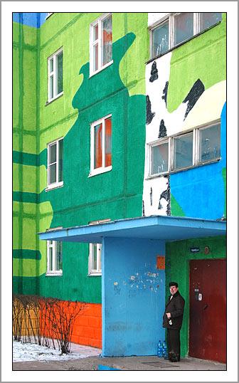 Ramenskoye's Painted Houses6