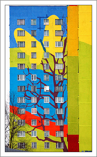 Ramenskoye's Painted Houses7