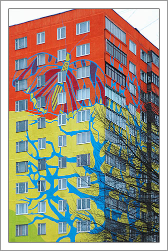 Ramenskoye's Painted Houses9