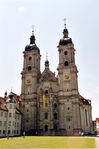 Abbey of St Gall, world heritage of Unesco