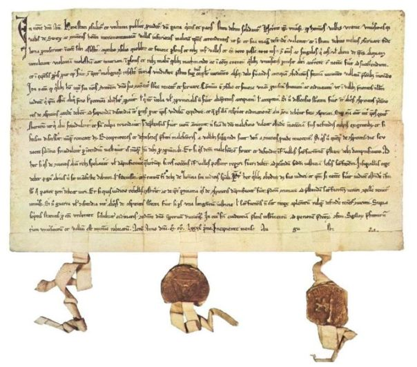 The Swiss Federal Charter of 1291