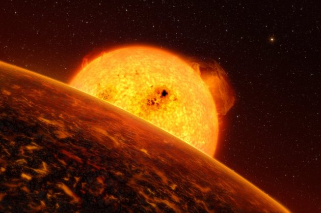 The exoplanet Corot-7b