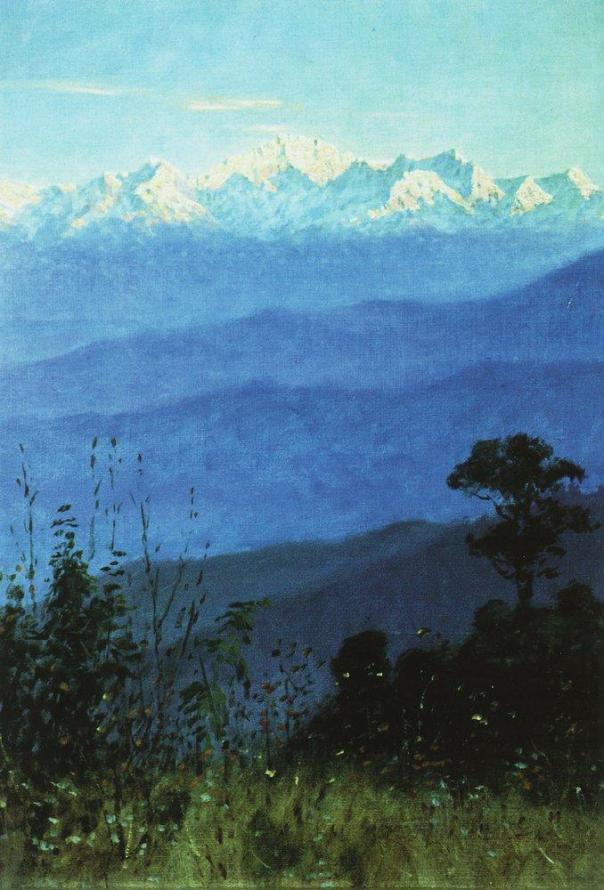 Гималаи_вечером