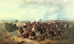 Theodor Aman -Izgonirea turcilor la Calugareni