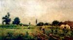 Theodor Aman.Peisaj.