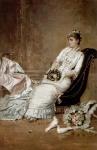 Theodor Aman - Portret de femeie